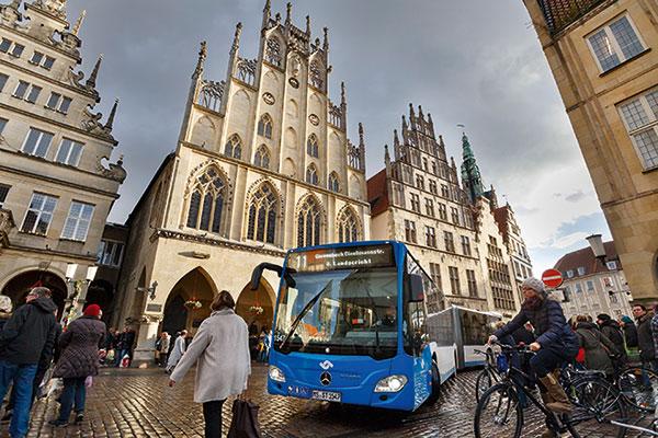 Bus und Bahn fahren in Muenster
