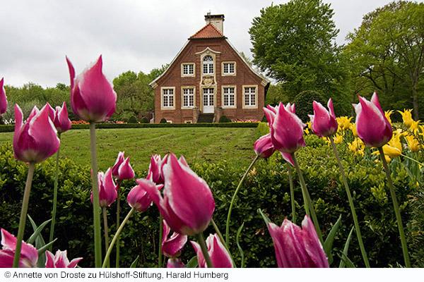 Haus Rüschhaus mit der münstercard