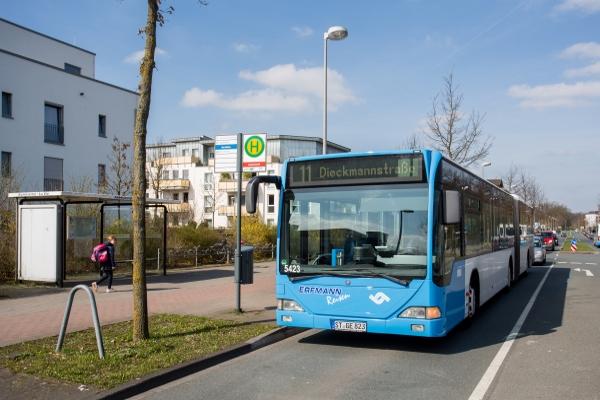 Bus und Bahn fahren in Münster