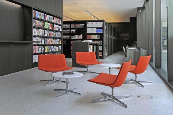 Bibliothek im LWL-Museum für Kunst und Kultur in Münster